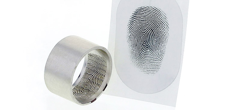 How do I take a fingerprint?