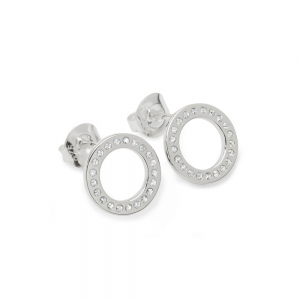 Art Deco Halo Studs