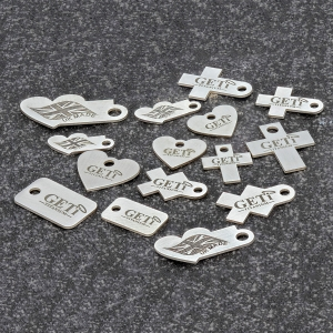 Bespoke Product Tag Engraving
